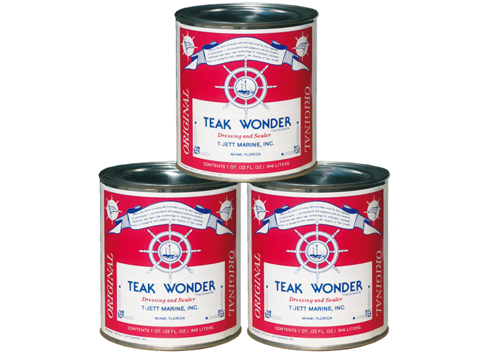 TEAK WONDER DRESSING and SEALER